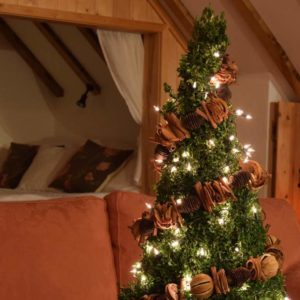 The Hayloft Christmas Tree