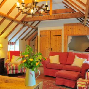 The Hayloft Living Room