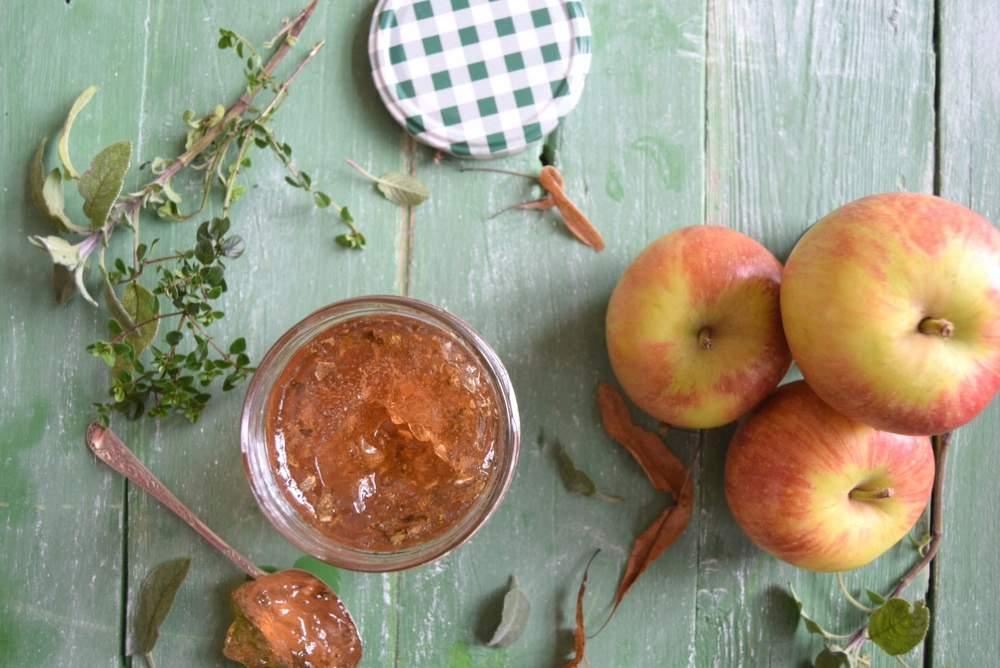 Apple Herb Jelly