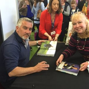 Paul Hollywood at the BBC Good Food Show in Harrogate