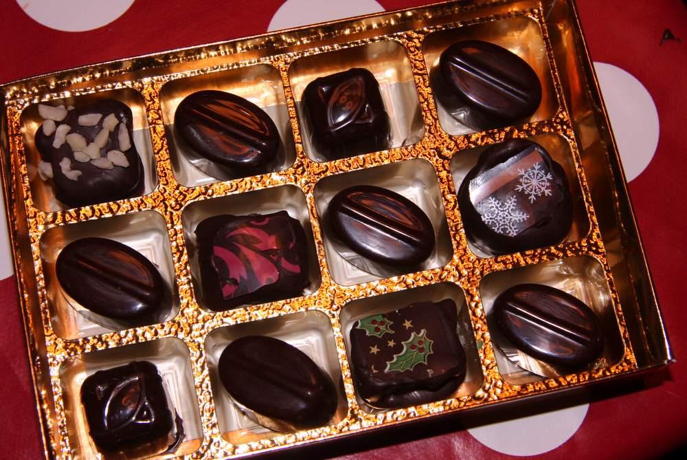 Chocolates at Christmas
