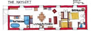 Hayloft Floor Plan